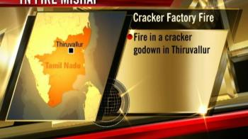 Video : Fire accident at cracker godown; 30 killed
