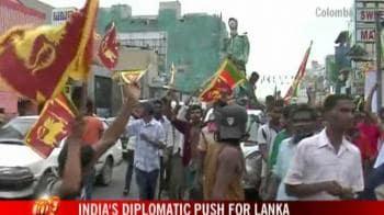 Video : India's diplomatic push for Lanka