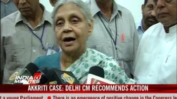 Video : Akkriti case: Delhi CM recommends action