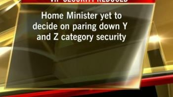 Video : X-category security list of 30 VIPs removed