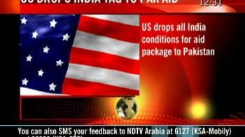 Video : US drops India tag to Pak aid