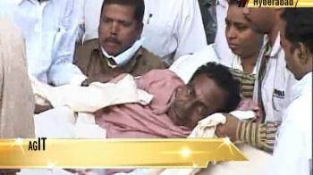 Video : Unrest in Telangana as TRS calls for two-day bandh