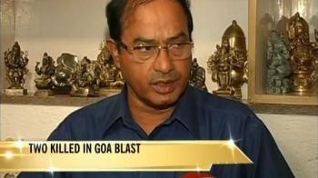 Video : Goa govt: Hindu group behind Margao blast