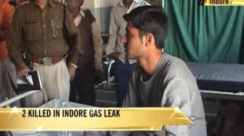 Video : Gas leak at Indore factory, 2 dead