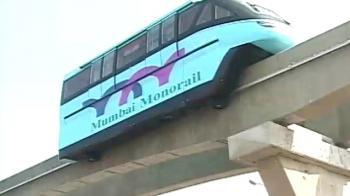 Video : Trial run of country's first mono rail in Mumbai