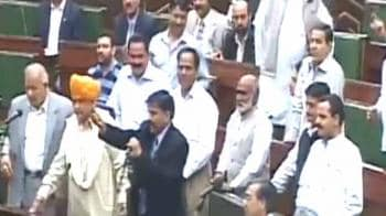 Video : J&K assembly: MLAs marshalled out