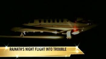 Video : Rajnath Singh's plane violated safety basics
