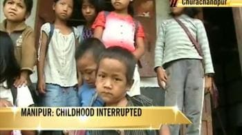 Video : Manipur kids high on dope, low on hope