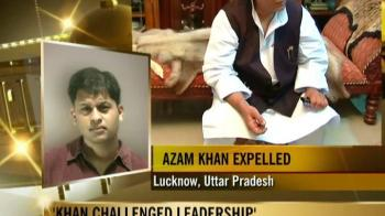 Video : Azam Khan expelled from SP for 6 years