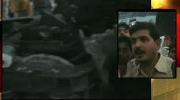 Video : Trains collide: Eyewitness account
