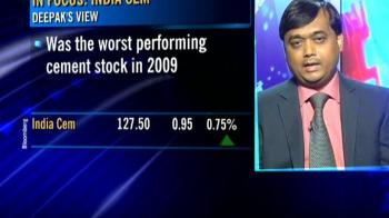 Video : India Cements holds a lot of potential: Deepak Singh