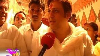 Videos : Govinda prays for Do Knot Disturb
