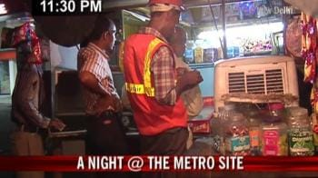 Video : A night at Metro site
