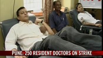 Video : Maharashtra doctors' strike continues