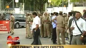 Video : YSR's Cabinet to be sworn today