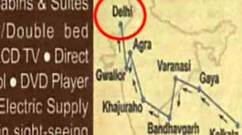 Video : Railway Ministry's advertisement blooper