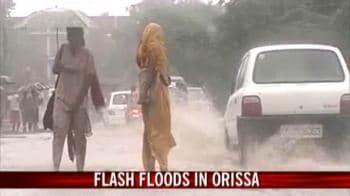 Video : Flash floods in Orissa