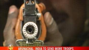 Video : India ups vigil on China border