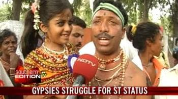 Video : TN gypsies struggle for ST status