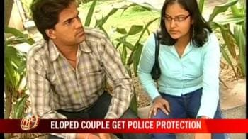 Video : Rajasthan couple gets police protection