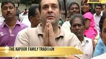 Video : The Kapoors and their Ganpati