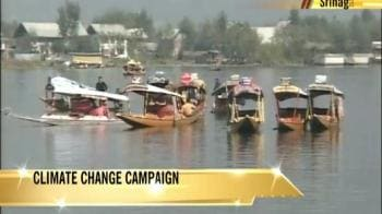 Video : Shikaras promote climate change