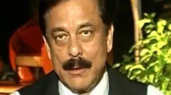 Video : Chose Pune because of infrastructure: Subrata Roy