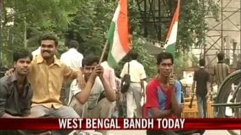Video : West Bengal bandh today