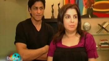 Videos : Farah and SRK, friends turned foes
