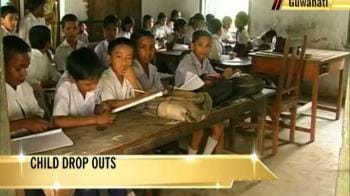 Video : Lack of schools force Assam kids to drop out