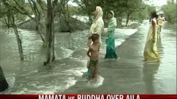 Video : Mamata vs Buddha over Aila