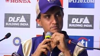 Video : Ganguly: KKR missing the 'X' factor