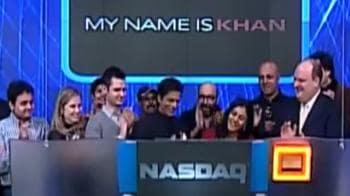 Video : SRK, Kajol create history at NASDAQ