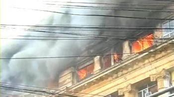 Video : Fire in the heart of Kolkata