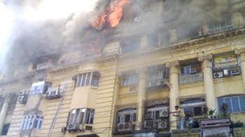 Video : Kolkata: Park Street fire under control