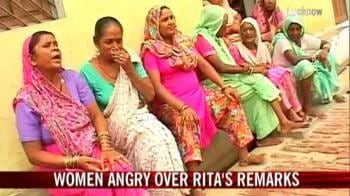 Video : Women angry over Rita's remarks