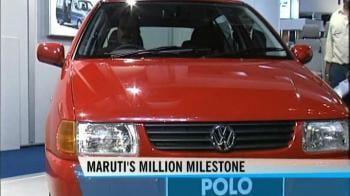 Video : Maruti Suzuki rolls out its millionth car
