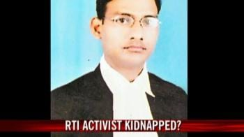 Video : RTI activist kidnapped?