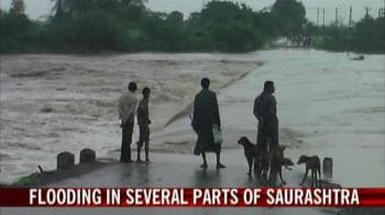 Video : Flooding in several parts of Saurashtra