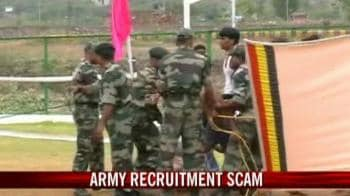 Video : Army official allegedly involved in recruitment scam