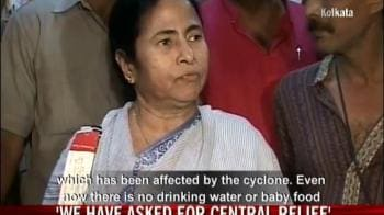Video : We have asked for Central relief for Aila-hit areas: Mamata
