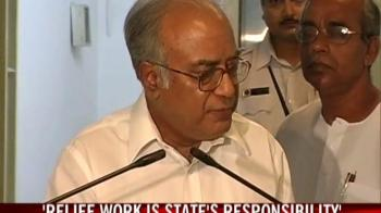 Video : Relief work is state's responsibility: West Bengal