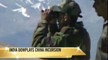 Video : India downplays China incursion
