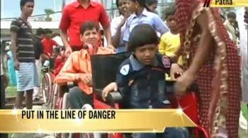 Video : A dangerous protest