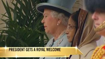 Video : Royal welcome for President Patil in London