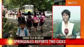 Video : Swine flu cases on the rise in Delhi, Pune