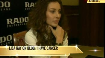 Lisa Ray blogs on cancer