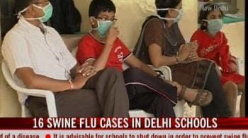 Video : 16 swine flu cases in Delhi schools