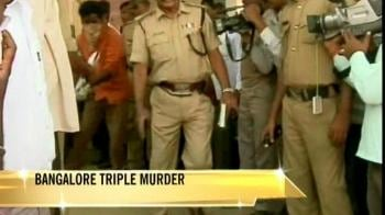 Video : Police cracks Bangalore triple murder