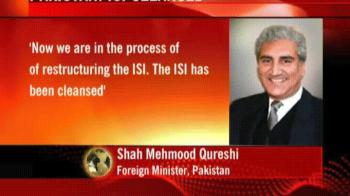 Video : Pakistan: ISI cleansed, restructuring on